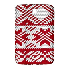 Crimson Knitting Pattern Background Vector Samsung Galaxy Note 8 0 N5100 Hardshell Case