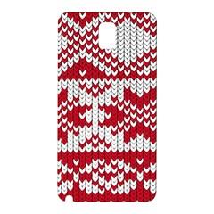 Crimson Knitting Pattern Background Vector Samsung Galaxy Note 3 N9005 Hardshell Back Case