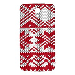 Crimson Knitting Pattern Background Vector Samsung Galaxy Mega I9200 Hardshell Back Case