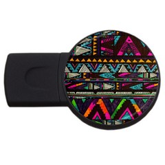 Cute Hipster Elephant Backgrounds Usb Flash Drive Round (2 Gb) by BangZart