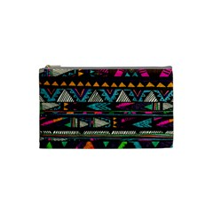 Cute Hipster Elephant Backgrounds Cosmetic Bag (small)  by BangZart