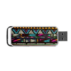 Cute Hipster Elephant Backgrounds Portable Usb Flash (two Sides) by BangZart