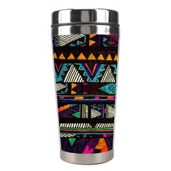 Cute Hipster Elephant Backgrounds Stainless Steel Travel Tumblers by BangZart