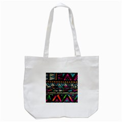 Cute Hipster Elephant Backgrounds Tote Bag (white) by BangZart