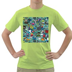 Comics Green T Shirt