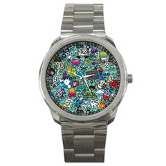 Comics Sport Metal Watch by BangZart