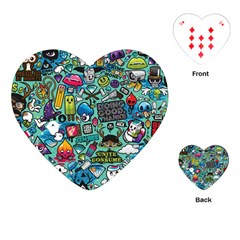 Comics Playing Cards (heart)