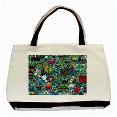 Comics Basic Tote Bag (two Sides)