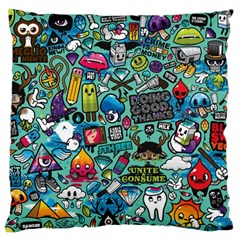 Comics Large Cushion Case (two Sides) by BangZart