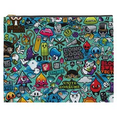 Comics Cosmetic Bag (xxxl)  by BangZart