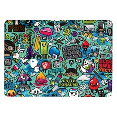Comics Samsung Galaxy Tab 10 1  P7500 Flip Case by BangZart
