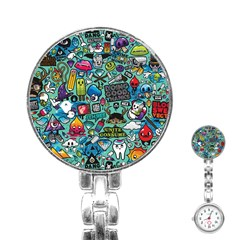 Comics Stainless Steel Nurses Watch by BangZart