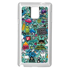 Comics Samsung Galaxy Note 4 Case (white) by BangZart