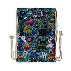 Comics Drawstring Bag (small) by BangZart
