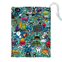Comics Drawstring Pouches (xxl) by BangZart