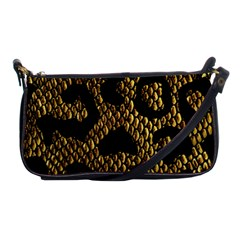 Metallic Snake Skin Pattern Shoulder Clutch Bags by BangZart