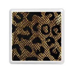 Metallic Snake Skin Pattern Memory Card Reader (square)  by BangZart
