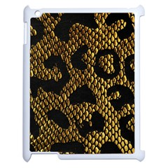 Metallic Snake Skin Pattern Apple Ipad 2 Case (white) by BangZart