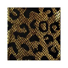 Metallic Snake Skin Pattern Acrylic Tangram Puzzle (6  X 6 )