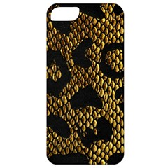 Metallic Snake Skin Pattern Apple Iphone 5 Classic Hardshell Case