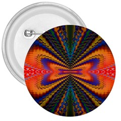 Casanova Abstract Art Colors Cool Druffix Flower Freaky Trippy 3  Buttons