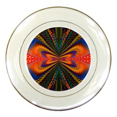 Casanova Abstract Art Colors Cool Druffix Flower Freaky Trippy Porcelain Plates by BangZart