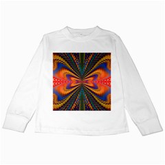 Casanova Abstract Art Colors Cool Druffix Flower Freaky Trippy Kids Long Sleeve T Shirts