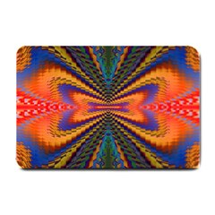 Casanova Abstract Art Colors Cool Druffix Flower Freaky Trippy Small Doormat  by BangZart