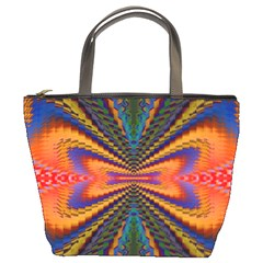 Casanova Abstract Art Colors Cool Druffix Flower Freaky Trippy Bucket Bags