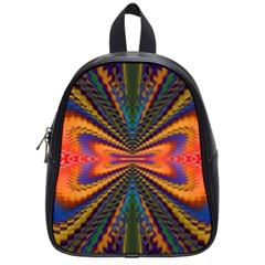 Casanova Abstract Art Colors Cool Druffix Flower Freaky Trippy School Bags (small)
