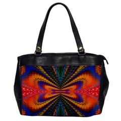 Casanova Abstract Art Colors Cool Druffix Flower Freaky Trippy Office Handbags by BangZart