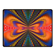 Casanova Abstract Art Colors Cool Druffix Flower Freaky Trippy Fleece Blanket (small) by BangZart