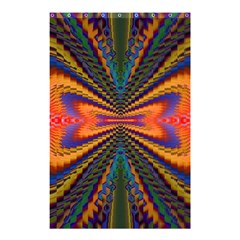 Casanova Abstract Art Colors Cool Druffix Flower Freaky Trippy Shower Curtain 48  X 72  (small)