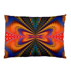 Casanova Abstract Art Colors Cool Druffix Flower Freaky Trippy Pillow Case (two Sides)