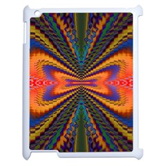Casanova Abstract Art Colors Cool Druffix Flower Freaky Trippy Apple Ipad 2 Case (white) by BangZart