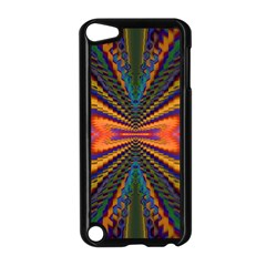 Casanova Abstract Art Colors Cool Druffix Flower Freaky Trippy Apple Ipod Touch 5 Case (black) by BangZart