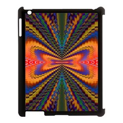 Casanova Abstract Art Colors Cool Druffix Flower Freaky Trippy Apple Ipad 3/4 Case (black)