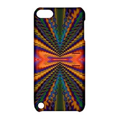 Casanova Abstract Art Colors Cool Druffix Flower Freaky Trippy Apple Ipod Touch 5 Hardshell Case With Stand