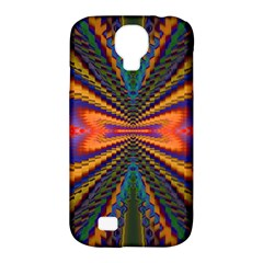 Casanova Abstract Art Colors Cool Druffix Flower Freaky Trippy Samsung Galaxy S4 Classic Hardshell Case (pc+silicone)