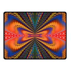 Casanova Abstract Art Colors Cool Druffix Flower Freaky Trippy Double Sided Fleece Blanket (small)  by BangZart