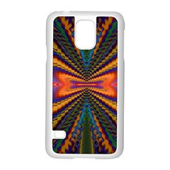 Casanova Abstract Art Colors Cool Druffix Flower Freaky Trippy Samsung Galaxy S5 Case (white) by BangZart