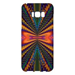Casanova Abstract Art Colors Cool Druffix Flower Freaky Trippy Samsung Galaxy S8 Plus Hardshell Case