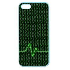 01 Numbers Apple Seamless Iphone 5 Case (color) by BangZart