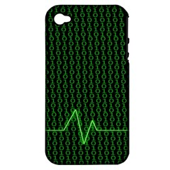 01 Numbers Apple Iphone 4/4s Hardshell Case (pc+silicone) by BangZart