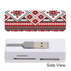 Consecutive Knitting Patterns Vector Memory Card Reader (stick)