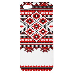 Consecutive Knitting Patterns Vector Apple Iphone 5 Hardshell Case by BangZart