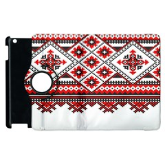 Consecutive Knitting Patterns Vector Apple Ipad 2 Flip 360 Case by BangZart