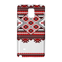 Consecutive Knitting Patterns Vector Samsung Galaxy Note 4 Hardshell Case