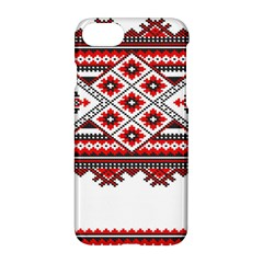 Consecutive Knitting Patterns Vector Apple Iphone 7 Hardshell Case by BangZart