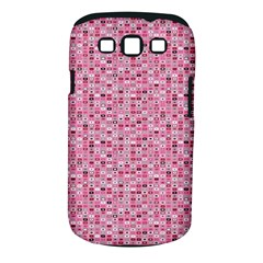 Abstract Pink Squares Samsung Galaxy S Iii Classic Hardshell Case (pc+silicone) by BangZart